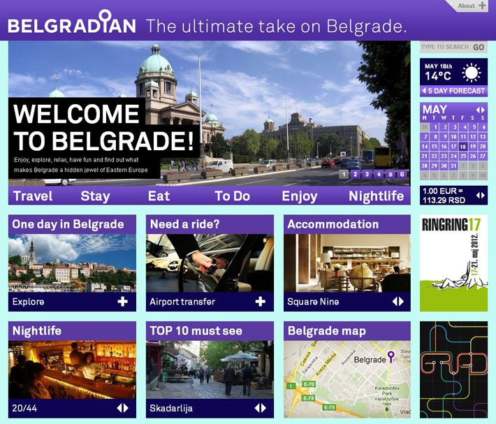 belgradian-website-shot